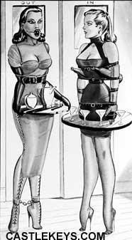 Tight corset fiction